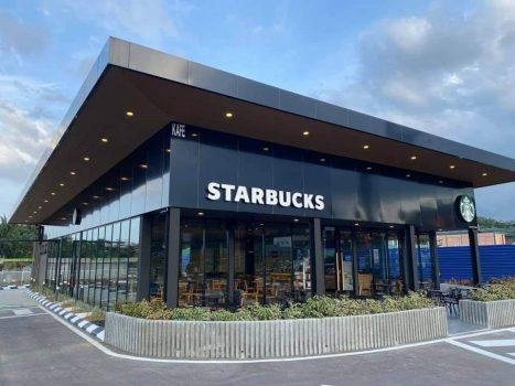 Starbucks Skudai R&R DT (Southbound) Promosi Pembukaan