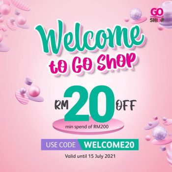 Go Shop Welcome You RM20 Diskaun Voucher Code
