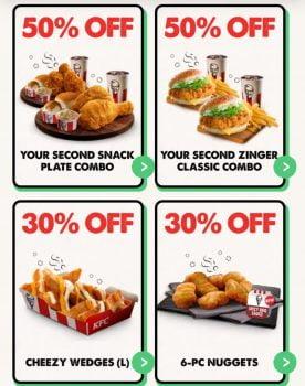 Tawaran App KFC Hingga 50%