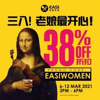 Kod Promosi Potongan EASI Istimewa Hari Wanita 38%