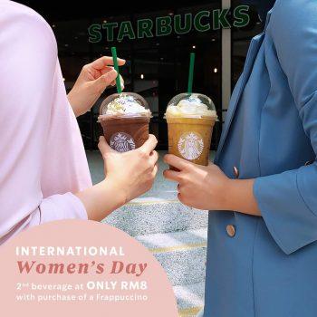 Cawan minuman Starbucks kedua dengan harga RM8 sahaja