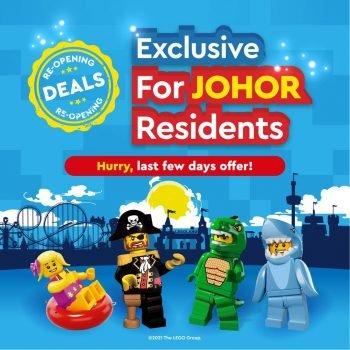 LEGOLAND BUY 1 tiket 1 PERCUMA untuk penduduk Johor