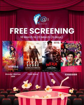 Hadiah Tayangan Filem Percuma Mega Cineplex