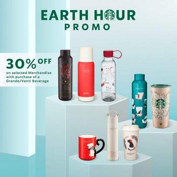 Koleksi barangan Starbucks Diskaun 30% Tambahan