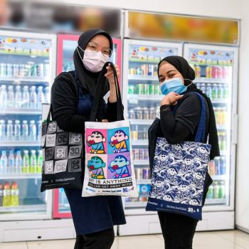 FamilyMart x Crayon ShinChan Tote Bag Penebusan Percuma