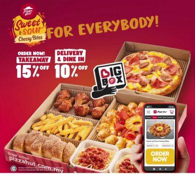 Potongan Pizza Hut Extra 15% untuk Tawaran Bawa Pulang