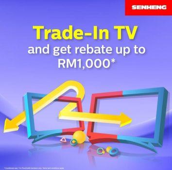 Berdagang di TV Lama Anda dan Dapatkan Rebat RM1000