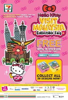 7-Eleven x Hello Kitty Kunjungi Tin Koleksi Malaysia