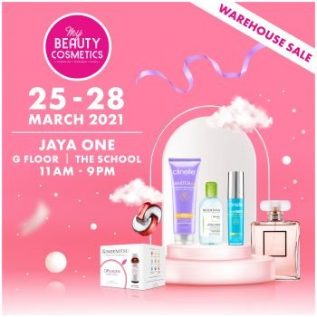 Jualan Gudang Kecantikan & Kosmetik Saya Mac 2021 @ Jaya One
