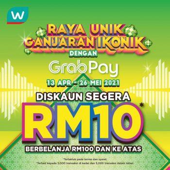Promosi Ramadan Rebat RM10 Percuma Watson