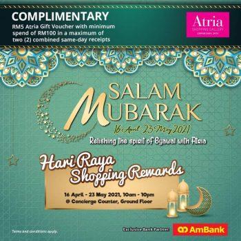 AmBank Percuma Baucar Hadiah Atria RM5