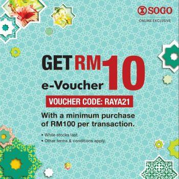 Kod Baucar RM10 Percuma SOGO Dalam Talian