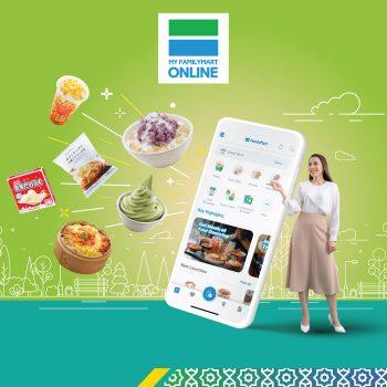 FamilyMart Online Cashback RM5 Percuma dengan TouchWallet Touch 'n Go