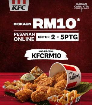 Kod Promosi Diskaun RM10 Tambahan KFC