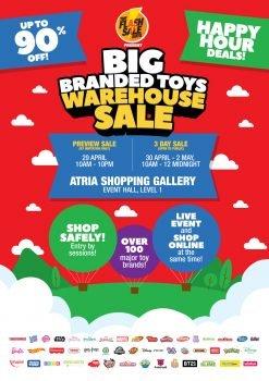 Jualan Gudang Mainan berjenama Besar oleh The Flash Sale Guys