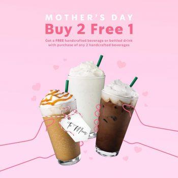 Starbucks Minuman Buatan Tangan PERCUMA / Promink Frink Mother's Day