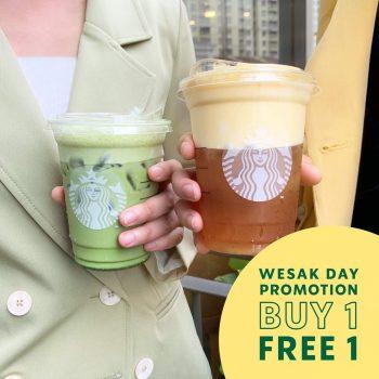 Promo Starbucks Wesak Day Buy 1 Percuma 1