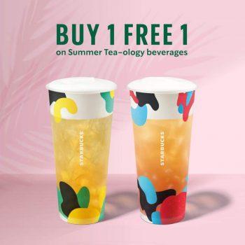 Promosi Starbucks Beli 1 Percuma 1 Jun 2021