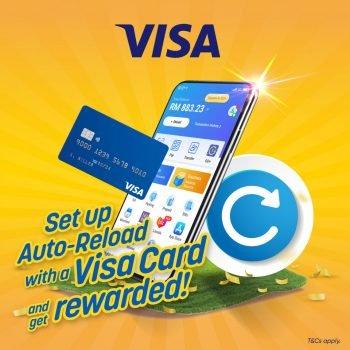 Pengguna TNG eWallet Dapatkan Ganjaran RM10 dengan Kad Visa