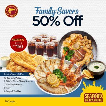 Penjimatan Keluarga Pasar Ikan Manhattan Diskaun 50%
