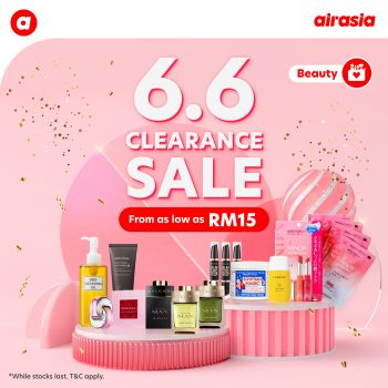 Jualan Pelepasan AirAsia Beauty 6.6
