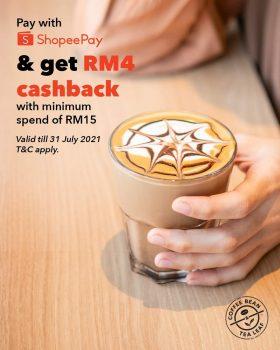 Biji Kopi & Daun Teh Percuma Pulangan Tunai RM4