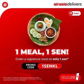 Promo AirSsia Food 1 Sen, 1 Meal