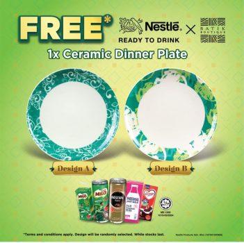 Hidangan Makan Keramik Edisi Terhad Nestle Free