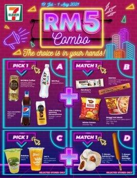 Pilihan adalah Milik Anda - 7-Eleven Malaysia Melancarkan Kombo RM5