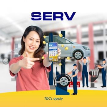 SERVIS RM15 Pulangan Tunai dengan Kempen eGallet TNG