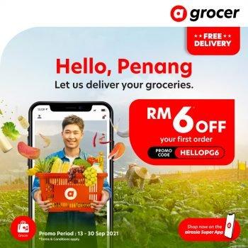 Kod Promo Diskaun RM6 AirAsia Groger Penang