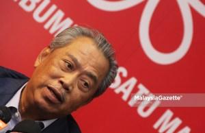 Presiden Parti Pribumi Bersatu Malaysia, Tan Sri Muhyiddin Yassin.