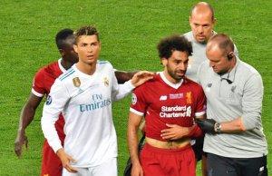 Mohamed Salah hanya sempat beraksi selama 30 minit pada final Liga Juara-Juara selepas gara-gara dikasari Sergio Ramos.