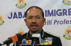 Ketua Pengarah Imigresen Datuk Seri Mustafar Ali