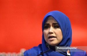 Ahli Parlimen Masjid Tanah, Datuk Mas Ermieyati Samsuddin hari ini mengumumkan keluar Barisan Nasional dan menjadi wakil rakyat bebas.