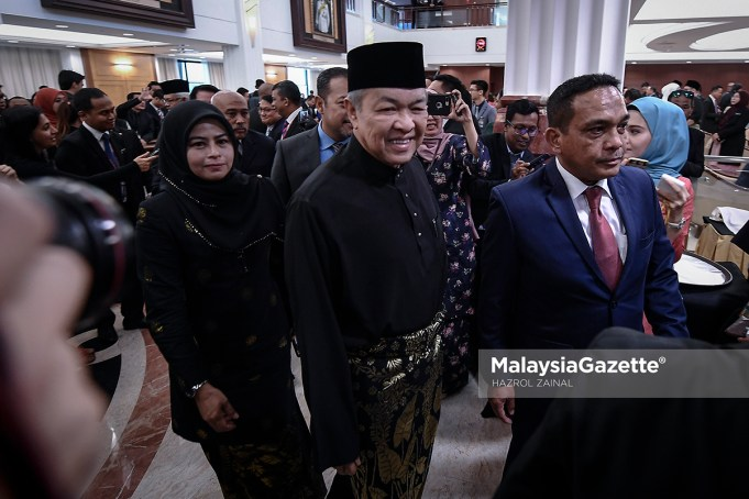 Ahli Parlimen Bagan Datuk, Datuk Seri Ahmad Zahid Hamidi kini ketua pembangkang di Dewan Rakyat.