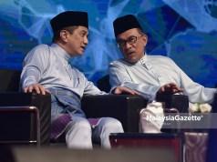 Mohamed Azmin bakal menjadi saingan sengit Anwar pada masa akan datang.