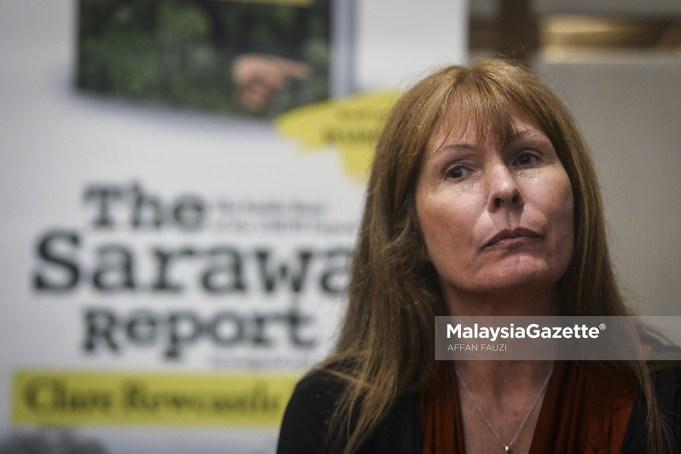 Editor The Sarawak Report, Clare Rewcastle Brown
