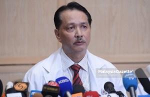 Sebanyak 42 kes baharu keracunan makanan (KRM) yang disyaki berpunca daripada memakan laksa yang dibeli di premis di Kupang, Baling telah direkodkan sehingga kini. - KP Kesihata, Datuk Noor Hisham Abdullah