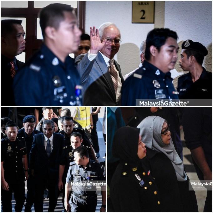 Datuk Seri Najib Razak, Tan Sri Irwan Serigar Abdullah dan Datuk Hasanah Abdul Hamid akan didakwa di Mahkamah Sesyen Kuala Lumpur atas kesalahan pecah amanah.