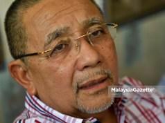 Bekas Pengerusi Felda Tan Sri Mohd Isa Abdul Samad