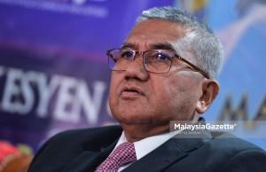 Ketua Polis Negara, Tan Sri Mohamad Fuzi Harun. foto SYAFIQ AMBAK, 04 DISEMBER 2018