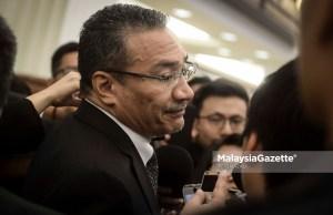 Datuk Seri Hishammuddin Tun Hussein. foto AFIQ RAZALI, 08 OGOS 2018.