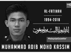 Pemuda Amanah Nasional akan tanggung kos Badal Haji untuk Allahyarham Muhammad Adib.