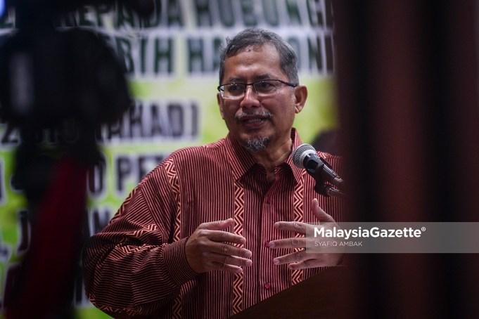 Datuk Iskandar Abdul Samad. foto SYAFIQ AMBAK, 10 MAC 2019