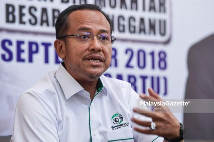 Dr. Ahmad Samsuri Mokhtar Menteri Besar Terengganu MB