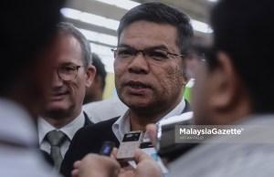 Datuk Seri Saifuddin Nasution Ismail. foto AFFAN FAUZI, 23 MEI 2019