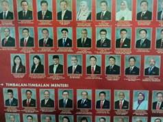 Siapakah daripada 26 menteri dan 27 timbalan menteri yang bakal digugurkan dari barisan Kabinet Tun Dr. Mahathir?