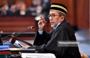 face mask parliament Tajuddin Abdul Rahman fined compound SOP
