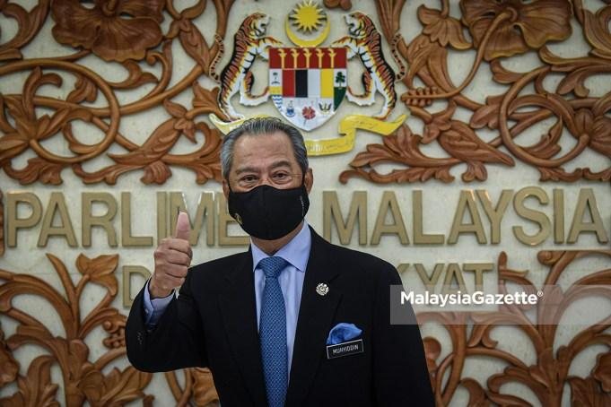 Prime Minister Tan Sri Muhyiddin Yassin UMNO ministers cabinet